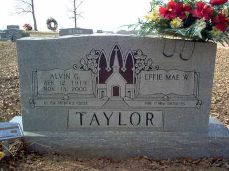 TAYLOR, ALVIN G. - Cross County, Arkansas | ALVIN G. TAYLOR - Arkansas Gravestone Photos