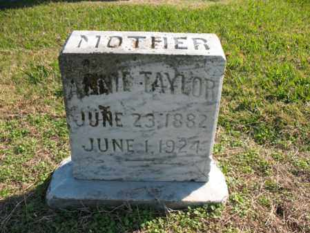 TAYLOR, ANNIE - Cross County, Arkansas | ANNIE TAYLOR - Arkansas Gravestone Photos