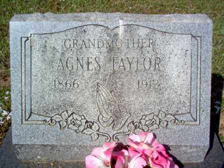 TAYLOR, AGNES - Cross County, Arkansas | AGNES TAYLOR - Arkansas Gravestone Photos
