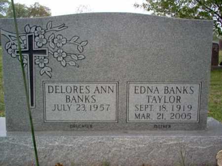 BANKS TAYLOR, EDNA EARL - Cross County, Arkansas | EDNA EARL BANKS TAYLOR - Arkansas Gravestone Photos