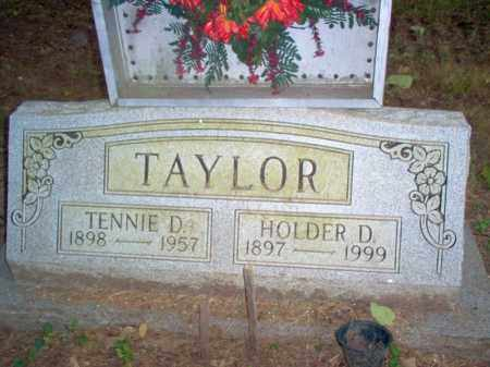 TAYLOR, HOLDER D. - Cross County, Arkansas | HOLDER D. TAYLOR - Arkansas Gravestone Photos