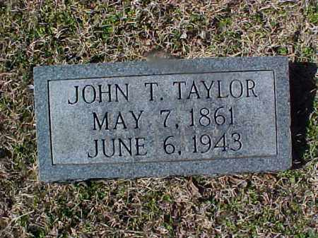TAYLOR, JOHN T. - Cross County, Arkansas | JOHN T. TAYLOR - Arkansas Gravestone Photos