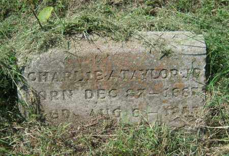 TAYLOR, JR., CHARLIE A. - Cross County, Arkansas | CHARLIE A. TAYLOR, JR. - Arkansas Gravestone Photos