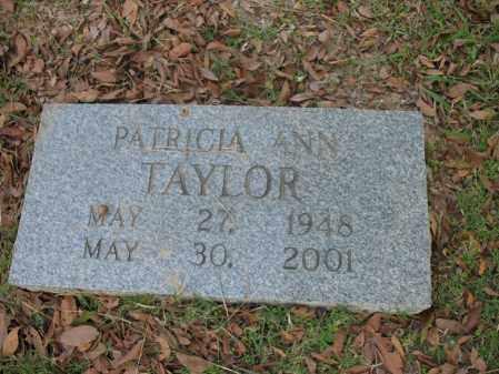 TAYLOR, PATRICIA ANN - Cross County, Arkansas | PATRICIA ANN TAYLOR - Arkansas Gravestone Photos