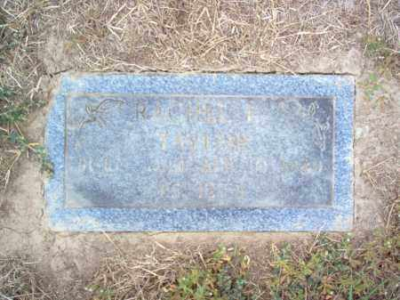 TAYLOR, RACHEL E. - Cross County, Arkansas | RACHEL E. TAYLOR - Arkansas Gravestone Photos