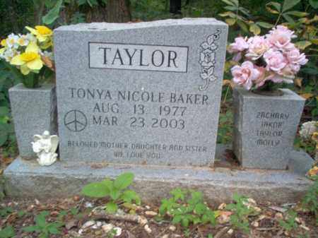 BAKER TAYLOR, TONYA NICOLE - Cross County, Arkansas | TONYA NICOLE BAKER TAYLOR - Arkansas Gravestone Photos