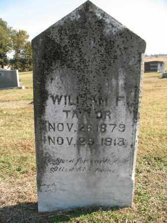 TAYLOR, WILLIAM F. - Cross County, Arkansas | WILLIAM F. TAYLOR - Arkansas Gravestone Photos