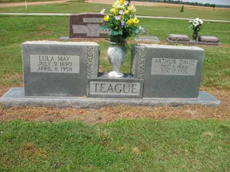 TEAGUE, ARTHUR DAVID - Cross County, Arkansas | ARTHUR DAVID TEAGUE - Arkansas Gravestone Photos