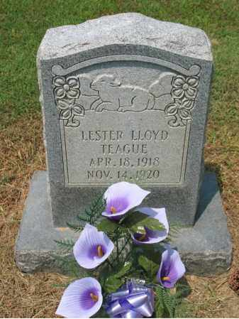 TEAGUE, LESTER FLOYD - Cross County, Arkansas | LESTER FLOYD TEAGUE - Arkansas Gravestone Photos
