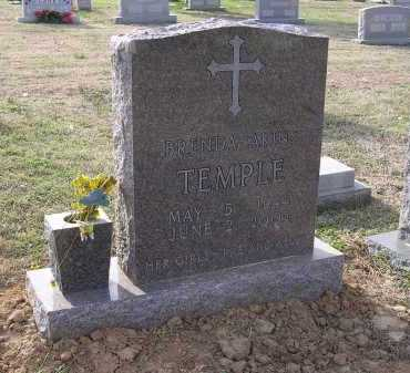 TEMPLE, BRENDA - Cross County, Arkansas | BRENDA TEMPLE - Arkansas Gravestone Photos