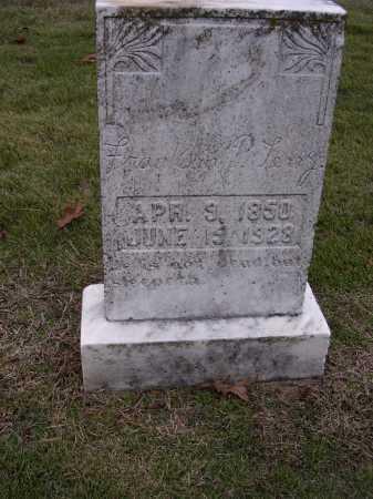 TERRY, FRANKLIN P - Cross County, Arkansas | FRANKLIN P TERRY - Arkansas Gravestone Photos