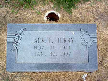 TERRY, JACK E - Cross County, Arkansas | JACK E TERRY - Arkansas Gravestone Photos