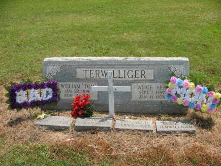 TERWILLIGER, ALICE LEE - Cross County, Arkansas | ALICE LEE TERWILLIGER - Arkansas Gravestone Photos