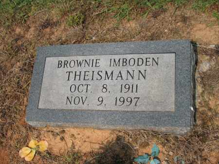IMBODEN THEISMANN, BROWNIE - Cross County, Arkansas | BROWNIE IMBODEN THEISMANN - Arkansas Gravestone Photos