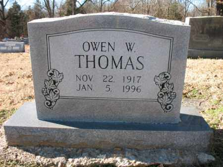 THOMAS, OWEN W - Cross County, Arkansas | OWEN W THOMAS - Arkansas Gravestone Photos