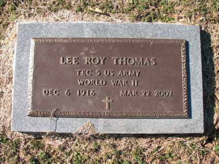 THOMAS (VETERAN WWII), LEE ROY - Cross County, Arkansas | LEE ROY THOMAS (VETERAN WWII) - Arkansas Gravestone Photos