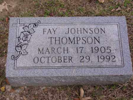 JOHNSON THOMPSON, FAY - Cross County, Arkansas | FAY JOHNSON THOMPSON - Arkansas Gravestone Photos
