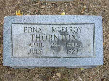 MCELROY THORNTON, EDNA - Cross County, Arkansas | EDNA MCELROY THORNTON - Arkansas Gravestone Photos