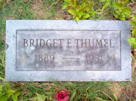 THUMEL, BRIDGET E - Cross County, Arkansas | BRIDGET E THUMEL - Arkansas Gravestone Photos