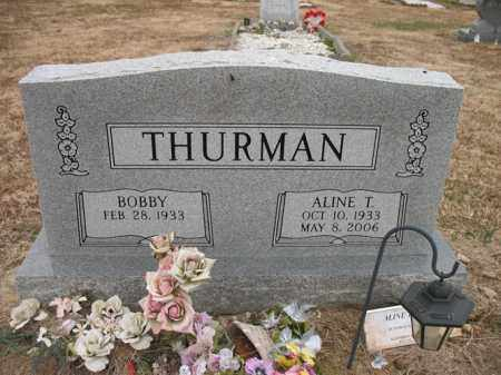 THURMAN, ALINE T - Cross County, Arkansas | ALINE T THURMAN - Arkansas Gravestone Photos
