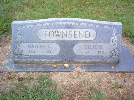 TOWNSEND, OLLYE E - Cross County, Arkansas | OLLYE E TOWNSEND - Arkansas Gravestone Photos