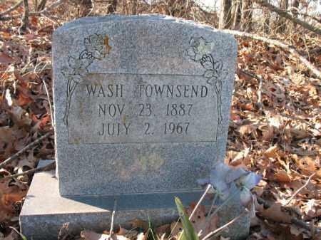 TOWNSEND, WASH - Cross County, Arkansas | WASH TOWNSEND - Arkansas Gravestone Photos