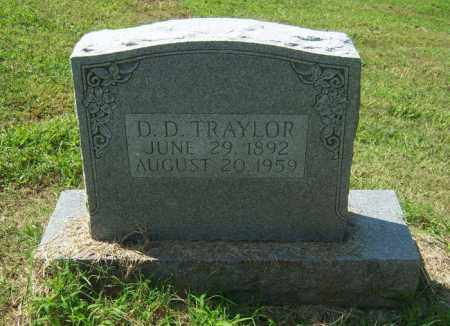 TRAYLOR, D D - Cross County, Arkansas | D D TRAYLOR - Arkansas Gravestone Photos