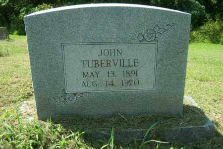TUBERVILLE, JOHN - Cross County, Arkansas | JOHN TUBERVILLE - Arkansas Gravestone Photos