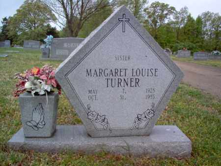TURNER, MARGARET LOUISE - Cross County, Arkansas | MARGARET LOUISE TURNER - Arkansas Gravestone Photos