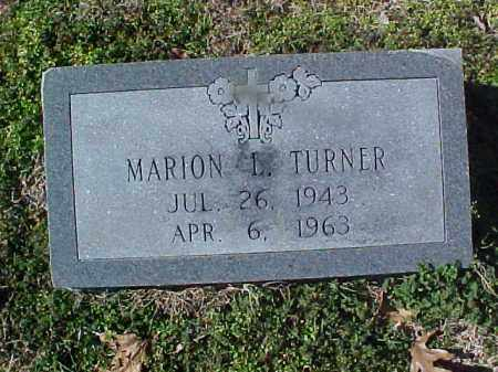 TURNER, MARION L - Cross County, Arkansas | MARION L TURNER - Arkansas Gravestone Photos