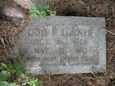 TURNER, ODIS E - Cross County, Arkansas | ODIS E TURNER - Arkansas Gravestone Photos