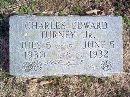 TURNEY, JR., CHARLES EDWARD - Cross County, Arkansas | CHARLES EDWARD TURNEY, JR. - Arkansas Gravestone Photos