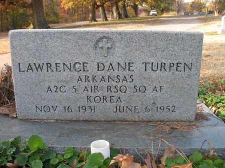 TURPEN (VETERAN KOR), LAWRENCE DANE - Cross County, Arkansas | LAWRENCE DANE TURPEN (VETERAN KOR) - Arkansas Gravestone Photos