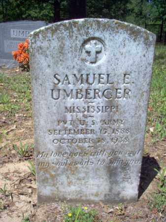 UMBERGER  (VETERAN), SAMUEL E - Cross County, Arkansas | SAMUEL E UMBERGER  (VETERAN) - Arkansas Gravestone Photos
