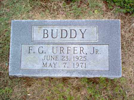 "URFER, JR., F G ""BUDDY"" - Cross County, Arkansas 