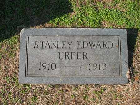 URFER, STANLEY EDWARD - Cross County, Arkansas | STANLEY EDWARD URFER - Arkansas Gravestone Photos