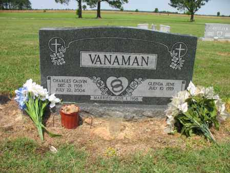 VANAMAN, CHARLES CALVIN - Cross County, Arkansas | CHARLES CALVIN VANAMAN - Arkansas Gravestone Photos