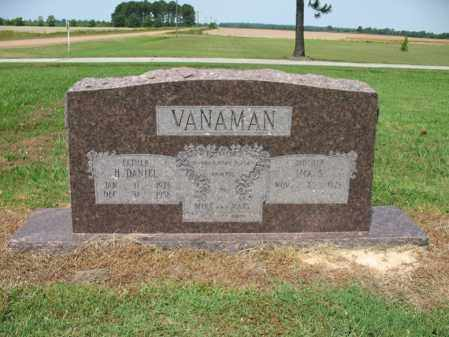 VANAMAN, HOWARD DANIEL - Cross County, Arkansas | HOWARD DANIEL VANAMAN - Arkansas Gravestone Photos