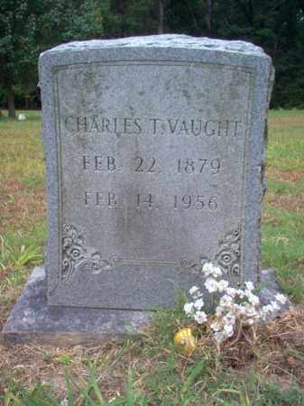 VAUGHT, CHARLES T - Cross County, Arkansas | CHARLES T VAUGHT - Arkansas Gravestone Photos