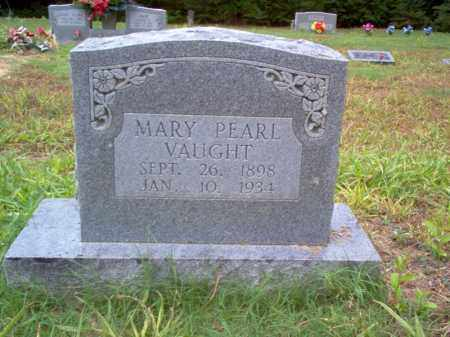 VAUGHT, MARY PEARL - Cross County, Arkansas | MARY PEARL VAUGHT - Arkansas Gravestone Photos