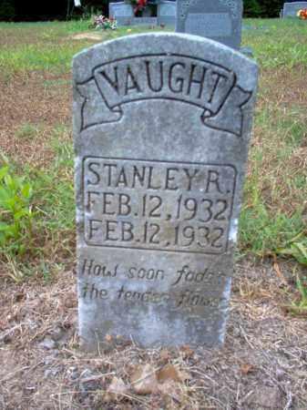 VAUGHT, STANLEY R - Cross County, Arkansas | STANLEY R VAUGHT - Arkansas Gravestone Photos