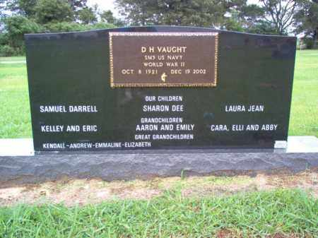 VAUGHT (VETERAN WWII), DELMAR HARRISON - Cross County, Arkansas | DELMAR HARRISON VAUGHT (VETERAN WWII) - Arkansas Gravestone Photos