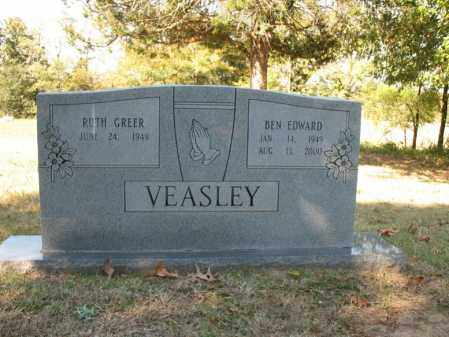 VEASLEY, BEN EDWARD - Cross County, Arkansas | BEN EDWARD VEASLEY - Arkansas Gravestone Photos