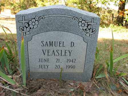 VEASLEY, SAMUEL D - Cross County, Arkansas | SAMUEL D VEASLEY - Arkansas Gravestone Photos