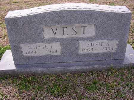 VEST, WILLIE L - Cross County, Arkansas | WILLIE L VEST - Arkansas Gravestone Photos