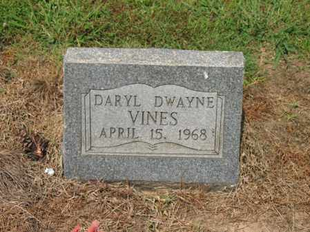 VINES, DARYL DWAYNE - Cross County, Arkansas | DARYL DWAYNE VINES - Arkansas Gravestone Photos
