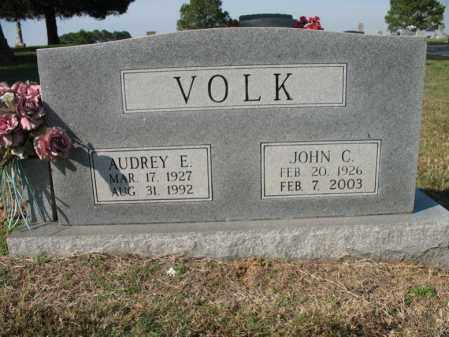 VOLK, AUDREY E - Cross County, Arkansas | AUDREY E VOLK - Arkansas Gravestone Photos