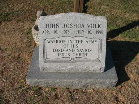VOLK, JOHN JOSHUA - Cross County, Arkansas | JOHN JOSHUA VOLK - Arkansas Gravestone Photos