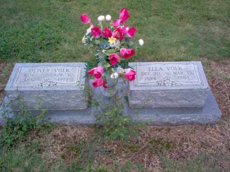 VOLK, OLIVER - Cross County, Arkansas | OLIVER VOLK - Arkansas Gravestone Photos