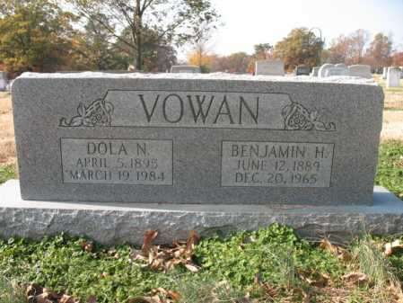 VOWAN, DOLA N - Cross County, Arkansas | DOLA N VOWAN - Arkansas Gravestone Photos